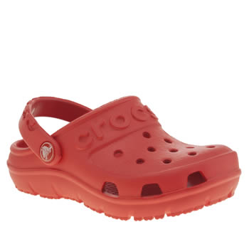 Crocs Red Hilo Clog Unisex Toddler