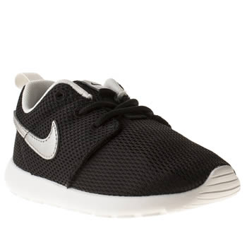 Nike Black Roshe Run Unisex Toddler