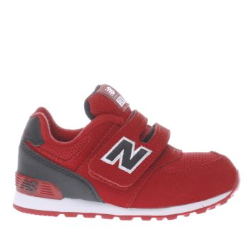 New Balance Red 574 Unisex Toddler