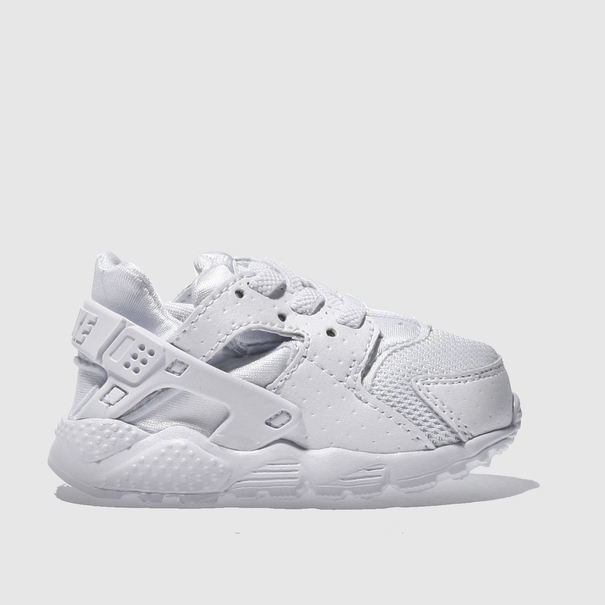 nike white huarache run Toddler Trainers