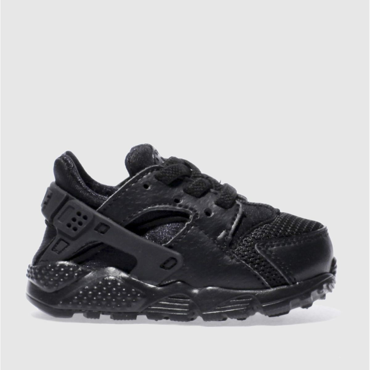 nike black huarache run Toddler Trainers