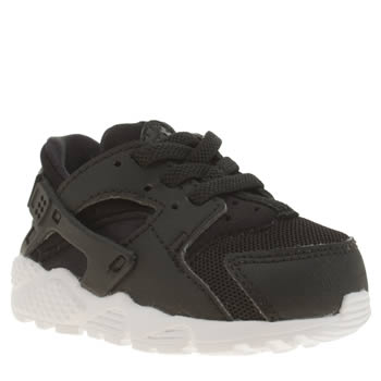 Nike Black & White Huarache Run Unisex Toddler