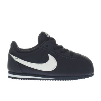 Nike Navy & Grey Cortez Nylon Unisex Toddler