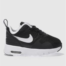 Nike Black & White Air Max Tavas Unisex Toddler