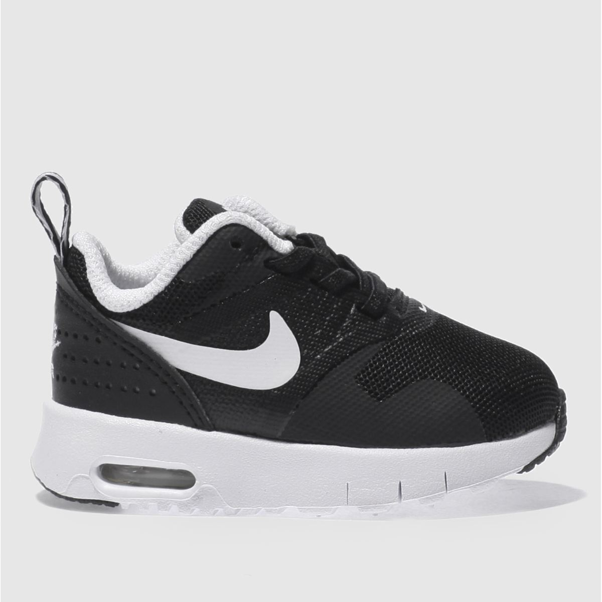 nike black & white air max tavas Toddler Trainers