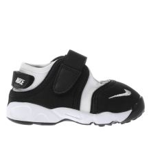 Nike White & Black Little Rift Unisex Toddler