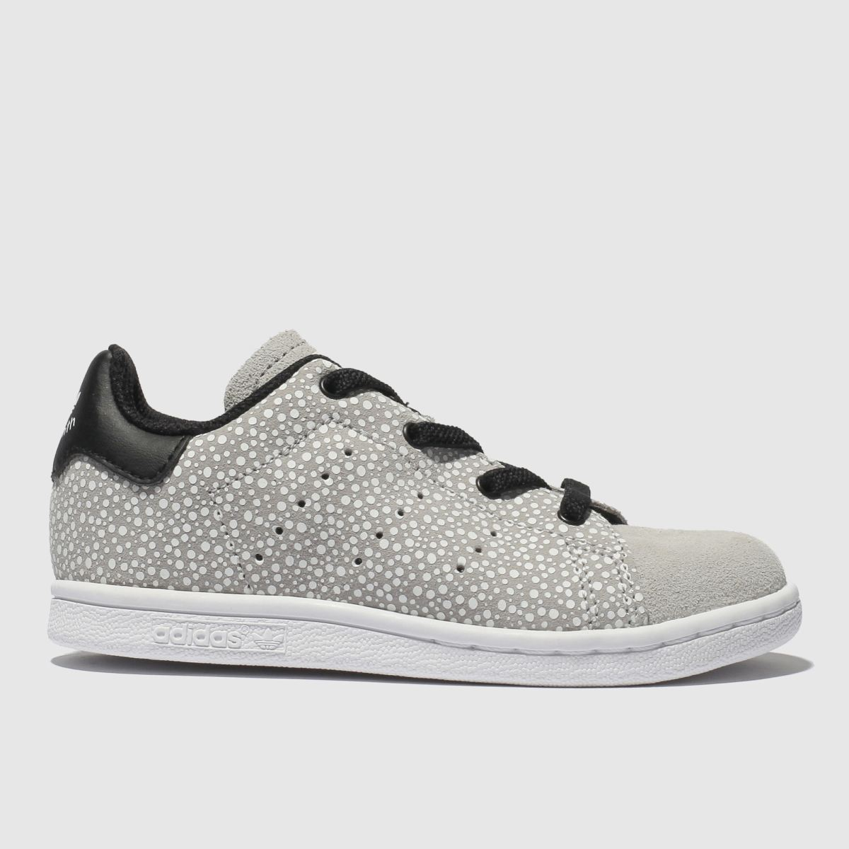 Adidas Light Grey Stan Smith Trainers Toddler