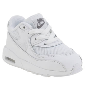 Nike White Air Max 90 Mesh Unisex Toddler