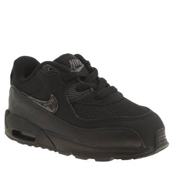 Nike Black Air Max 90 Mesh Unisex Toddler
