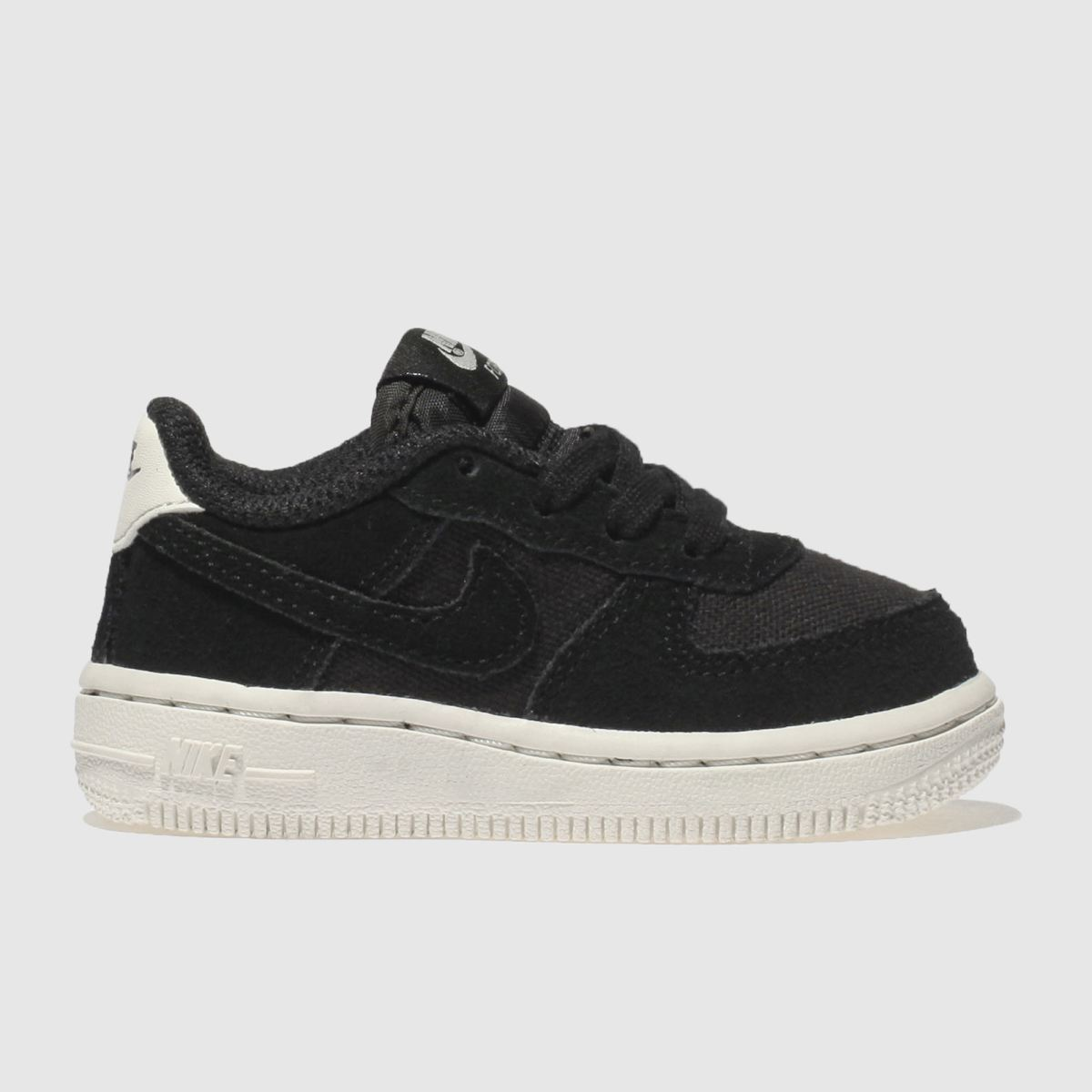 Nike Black & White Air Force 1 Trainers Toddler
