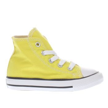 Converse Yellow All Star Hi Unisex Toddler