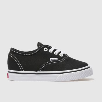 Vans Black & White Authentic Unisex Toddler