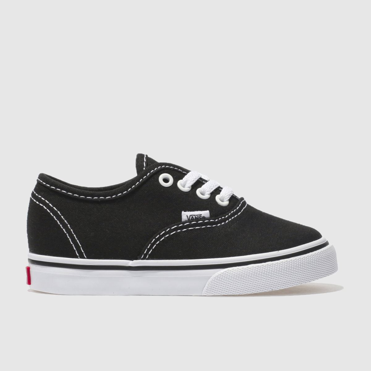 Vans Black & White Authentic Unisex Toddler Toddler