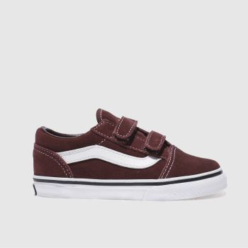 Vans Burgundy Old Skool Unisex Toddler