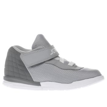 Nike Jordan Light Grey Academy Unisex Toddler