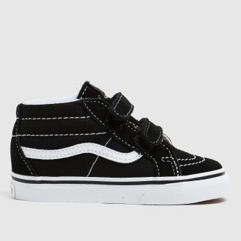 Vans Black & White SK8 MID Unisex Toddler