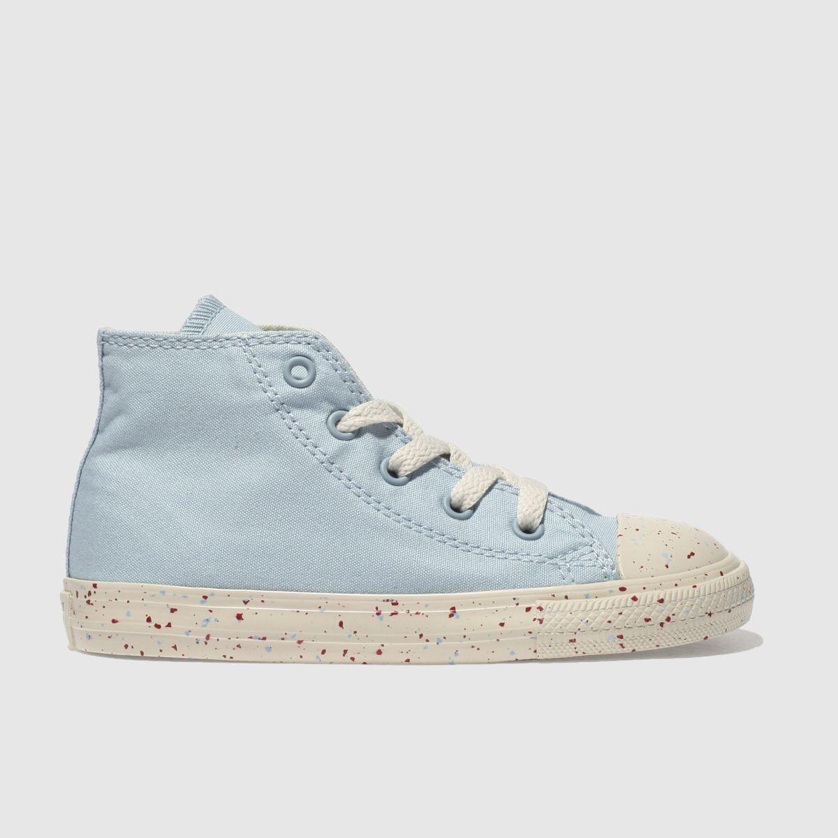 Converse Pale Blue Chuck Taylor All Star Hi Toddler Trainers