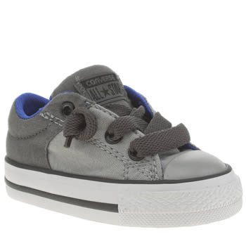 Converse Grey All Star High Street Unisex Toddler