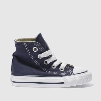 Unisex Converse Navy All Star Hi Unisex Toddler