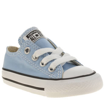 Converse Pale Blue All Star Oxford Unisex Toddler