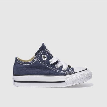 Unisex Converse Navy All Star Lo Unisex Toddler