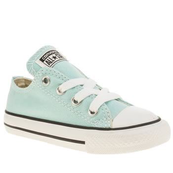 Unisex Converse Light Green All Star Oxford Unisex Toddler