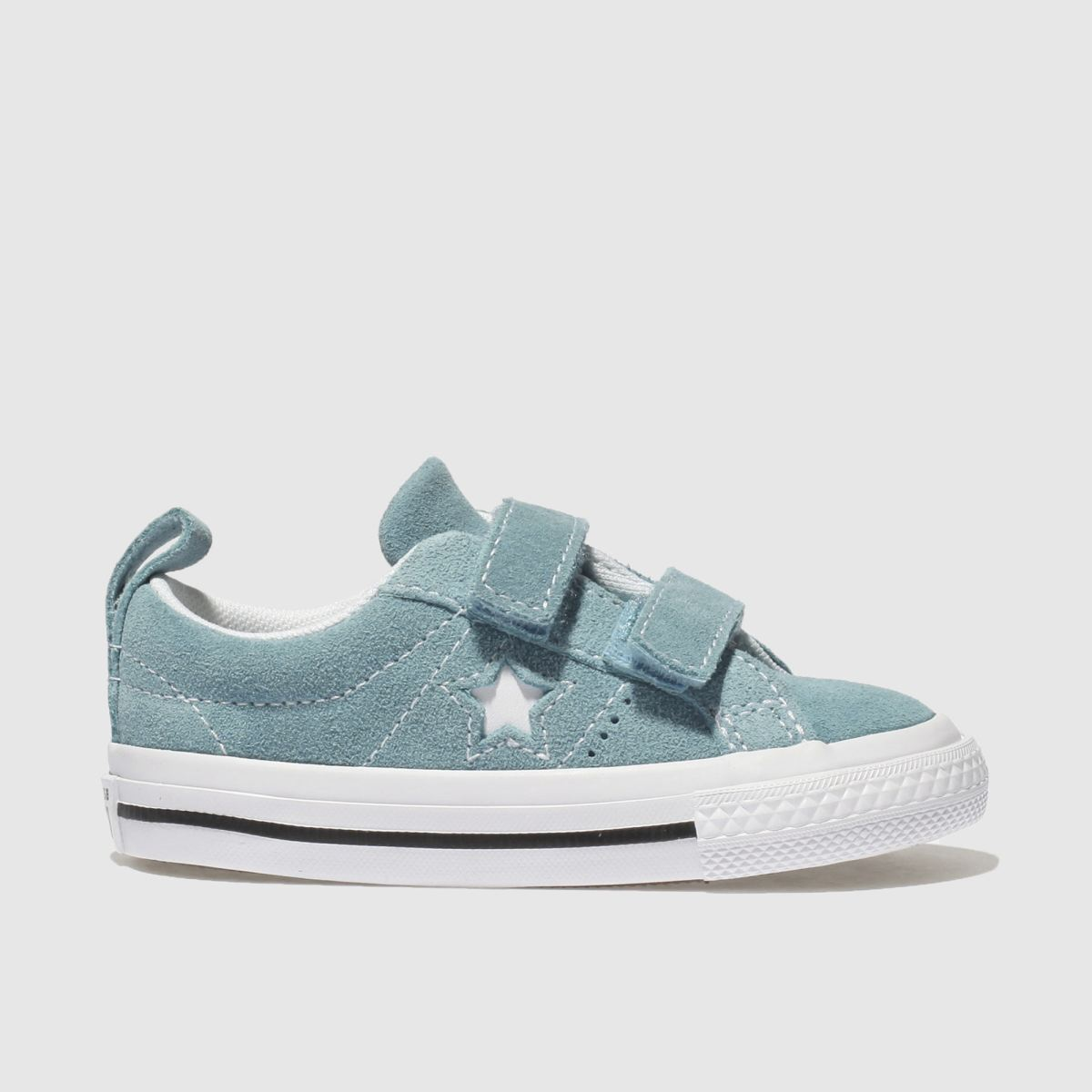 Converse Blue One Star Vintage Suede Trainers Toddler
