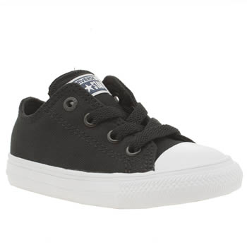 Converse Black & White Chuck Taylor Ii Ox Unisex Toddler