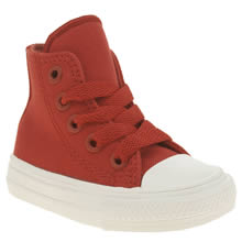Converse Red Chuck Taylor Ii Hi Unisex Toddler