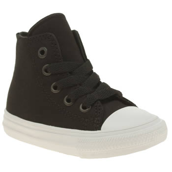 Converse Black & White Chuck Taylor Ii Hi Unisex Toddler