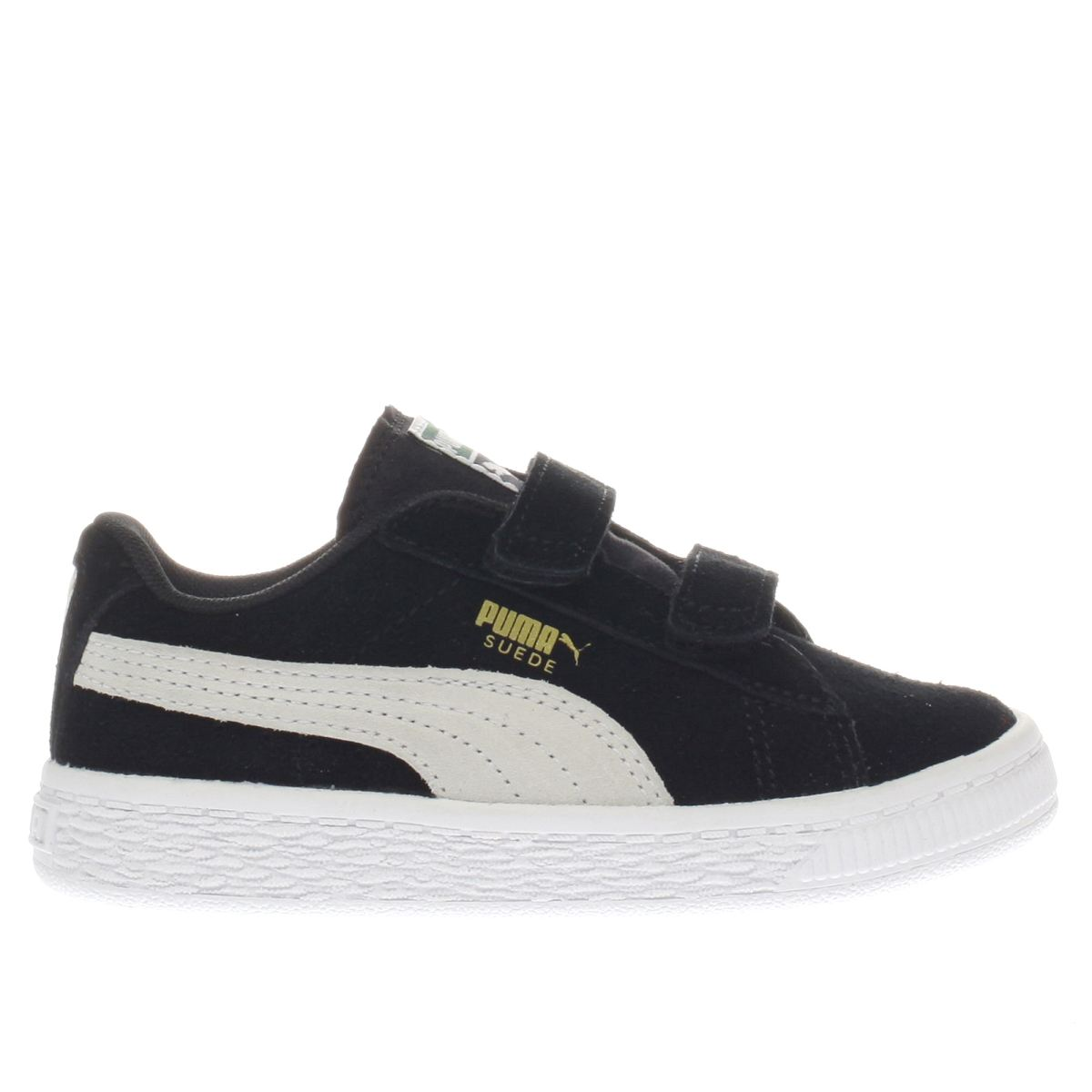 puma black & white suede classic Toddler Trainers