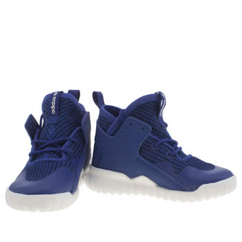 Adidas Men Tubular Invader Strap blue dark blue clear aqua PYS
