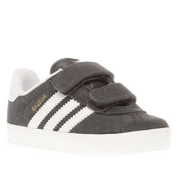 Adidas Dark Grey Gazelle 2 Unisex Toddler