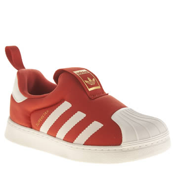 Adidas Red Superstar 360 Unisex Toddler