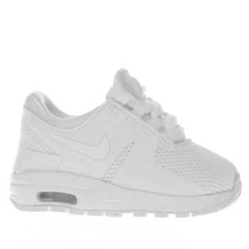 Nike White Air Max Zero Unisex Toddler