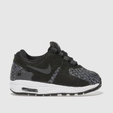Nike Black & Grey Air Max Zero Se Unisex Toddler