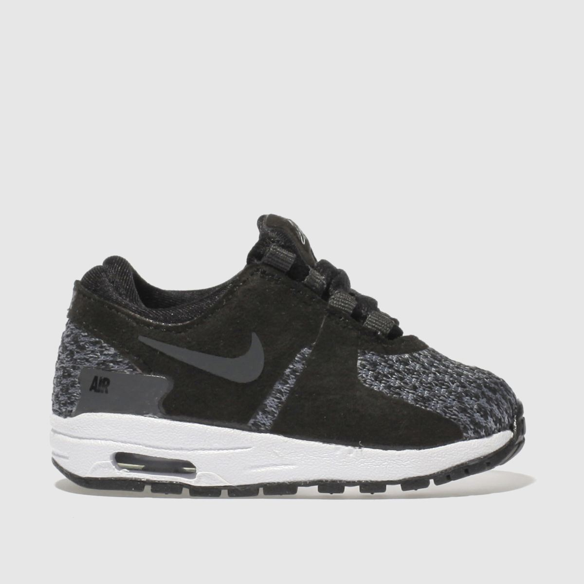 nike black & grey air max zero se Toddler Trainers