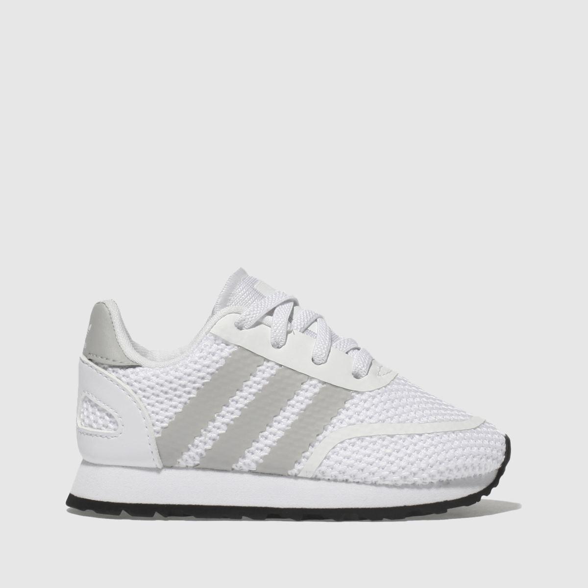 Adidas White & Grey N-5923 El Unisex Toddler Toddler