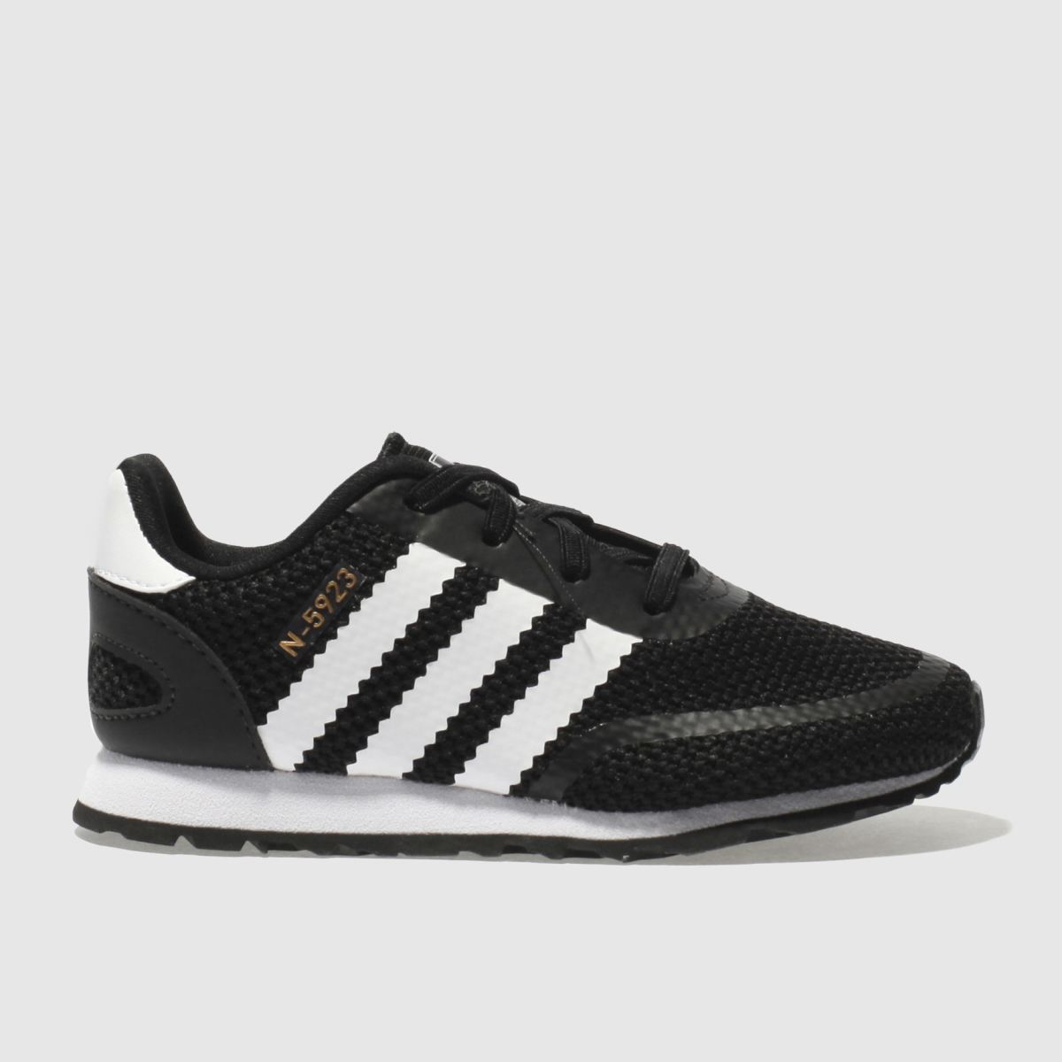 Adidas Black & White N-5923 Unisex Toddler Toddler
