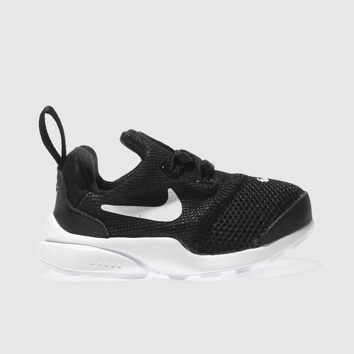 nike black & white presto fly Toddler Trainers