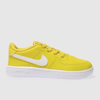Nike Yellow Force 1 18 Bt Unisex Toddler
