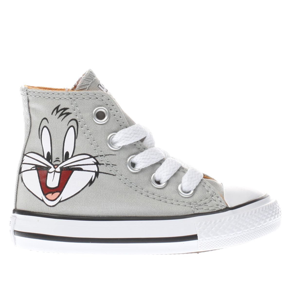 converse grey looney tunes bugs bunny Toddler Trainers