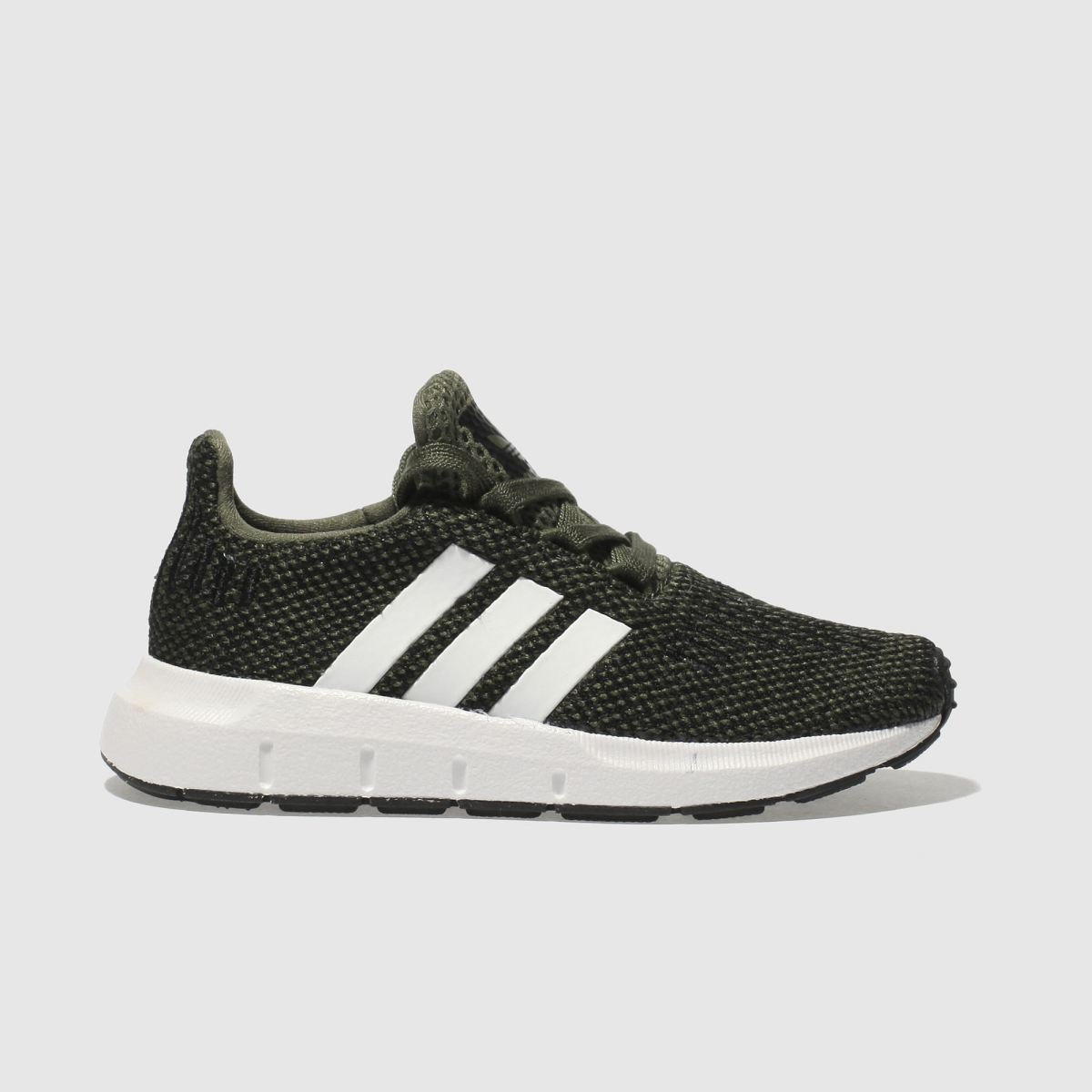 Adidas Khaki Swift Run Trainers Toddler