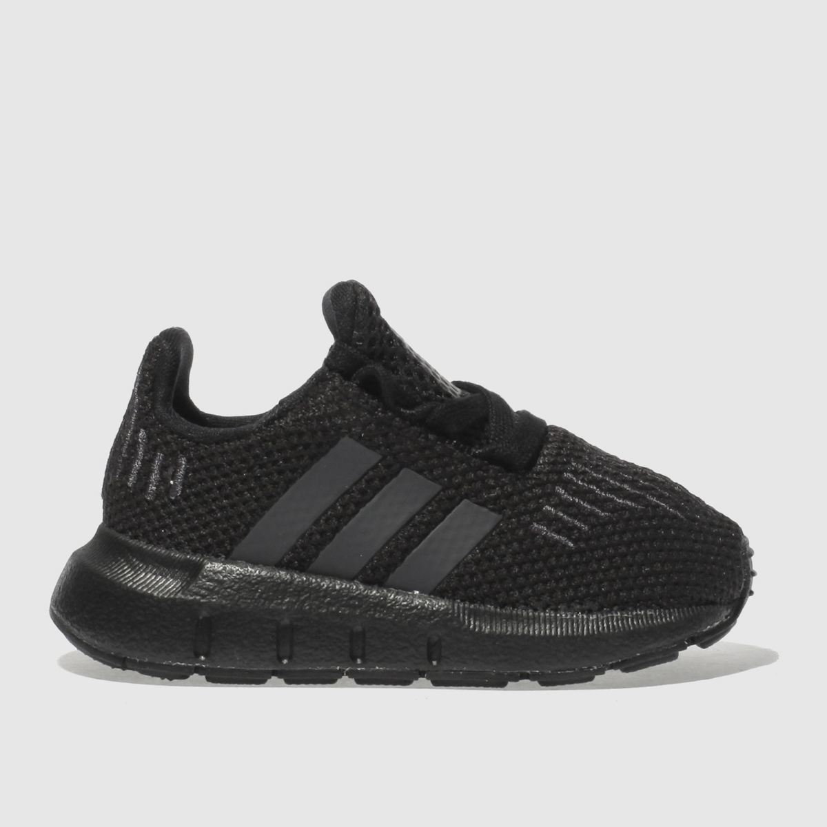 adidas black & grey swift run Toddler Trainers