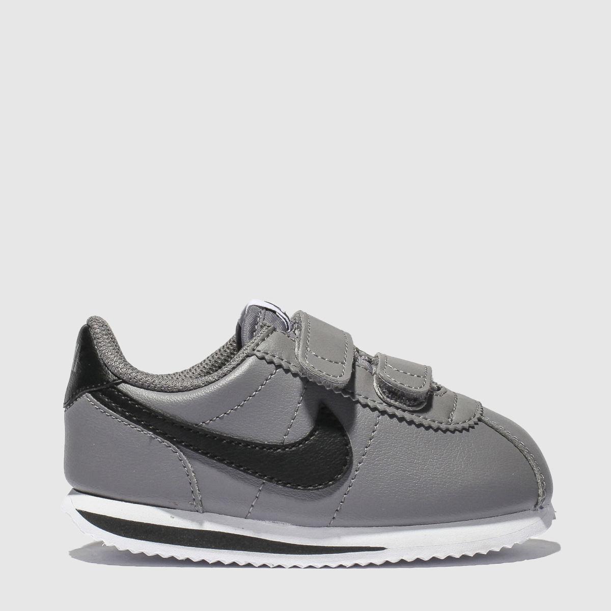 Nike Light Grey Cortez Basic Trainers Toddler