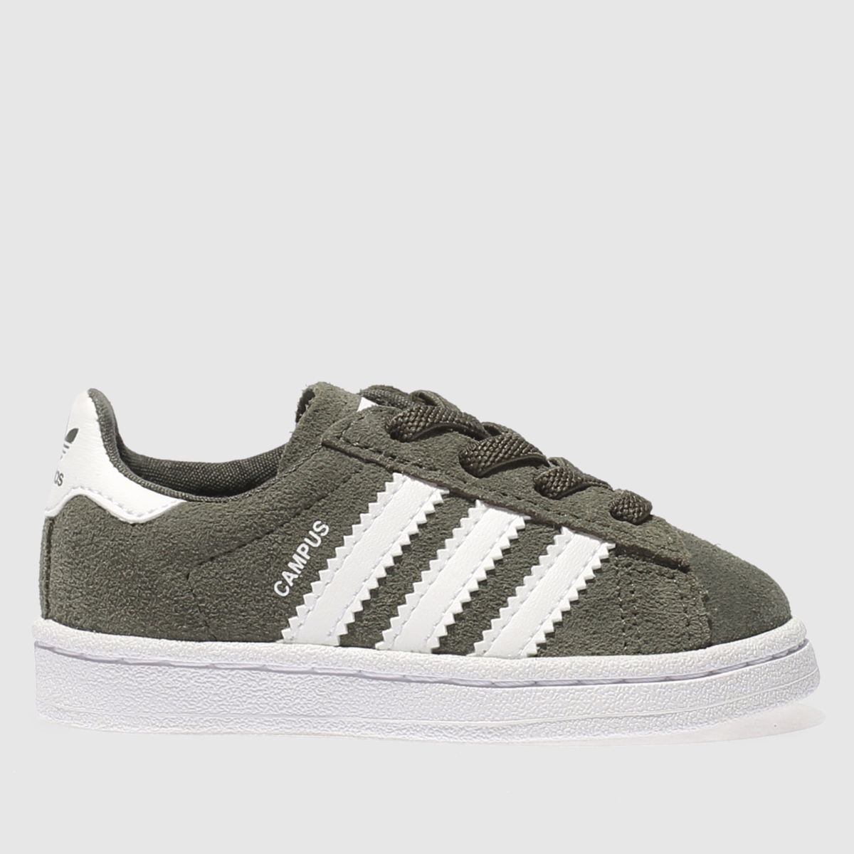 Adidas Khaki Campus Trainers Toddler
