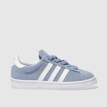 Adidas Pale Blue CAMPUS Unisex Toddler