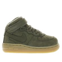Nike Khaki Air Force 1 High Wb Unisex Toddler
