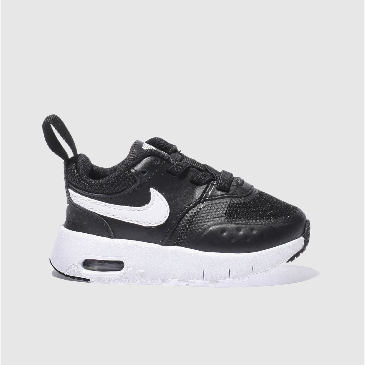 nike black & white air max vision Toddler Trainers