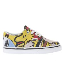 Vans Yellow & Red Era Peanuts The Gang Unisex Toddler